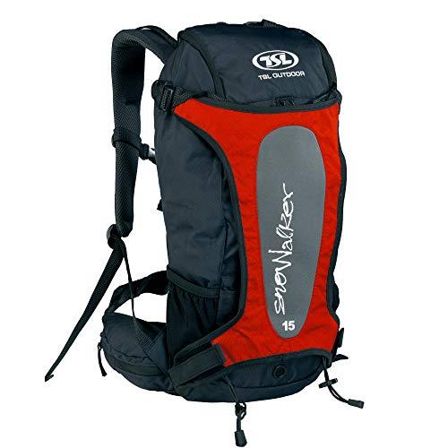 TSL Snowalker 15 Sac à dos porte-gants unisexe – Adulte, Mixte, PFSA054, rouge, Taille unique