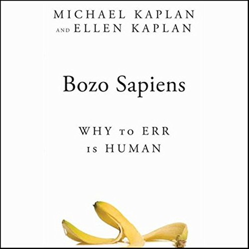 Bozo Sapiens audiobook cover art