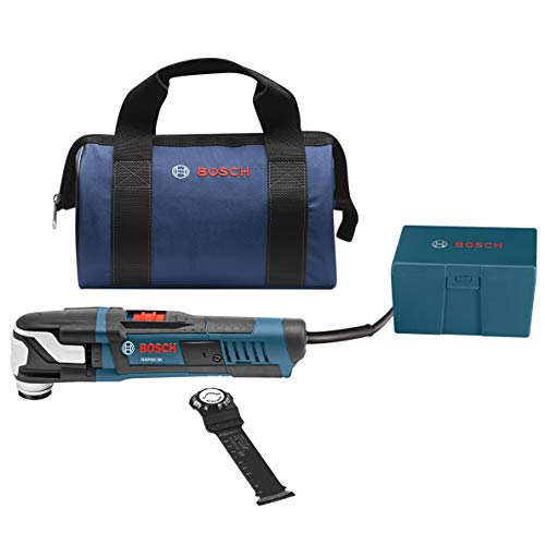 Save %8 Now! Bosch GOP55-36B StarlockMax Oscillating Multi-Tool Kit with Snap-In Blade Attachment