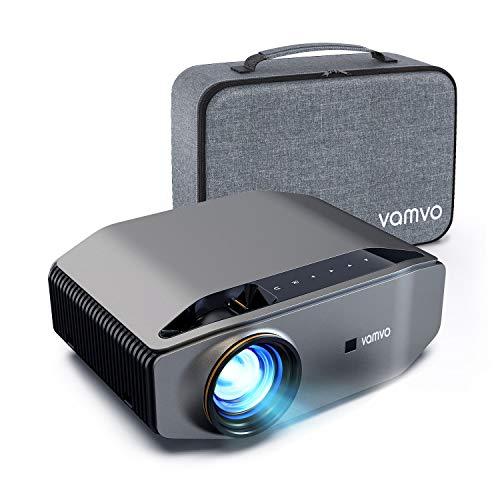 Proiettore, Vamvo L6200 Videoproiettore Full HD Nativo 1080p 7000 Lux con Dolby, Display Max 300', Ideale per Home Theater, Intrattenimento, PPT Business, Compatibile PS4/HDMI/VGA/USB