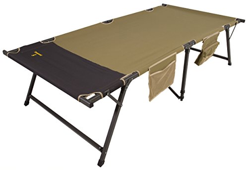 Browning Camping Titan Cot XP, X-Large, Sage & Dark Green (8562214)