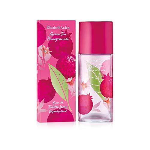 Elizabeth Arden Green Tea Pomegranate – Eau de Toilette Spray con vaporizador – Fraîche & Fruitada – 100 ml
