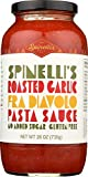 Spinelli's Gourmet Pasta Sauce Kit (2 JARS-Spicy Roasted Garlic fra Diavolo) All natural, Healthy,...