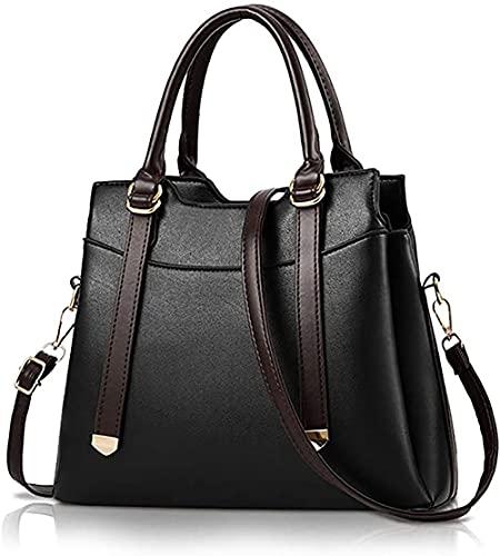 oinna Bolso portátil para mujer, bolso de mano para mujer, bolso informal, bolso clásico, bolso de mano, bolso de moda, 30 x 12,5 x 25 cm, color, talla 30 * 12.5 * 25 cm/11.81*4.92*9.84 IN