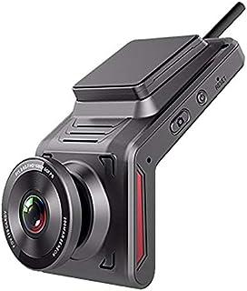Nrpfell 4G Car DVR Dash Cam HD WiFi Videoregistratore di Guida con Doppia Telecamera Grandangolare Supporto per Visione No...