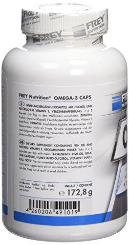 Frey Nutrition Omega-3 Complex, 1er Pack 172,8g - 5