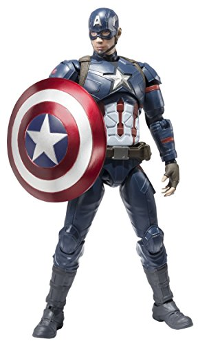 Civil War - Captain America [SH Figuarts] [Import Japon]