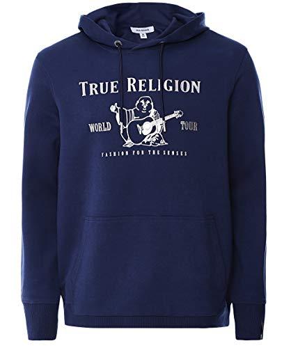 Preisvergleich Produktbild True Religion Herren Tschad-Kapuzenpulli L Marine