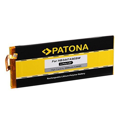 PATONA Akku HB3447A9EBW kompatibel mit Huawei P8 GRA-L09 GRA-UL00 GRA-UL10 Dual SIM