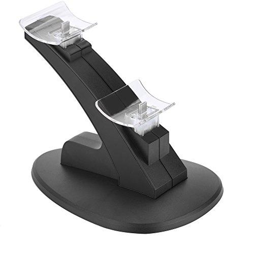 Vbestlife Cargador del Controlador para Nintendo Switch Pro, Pantalla LED Cargador de Carga USB Base de Acoplamiento Dual para Nintendo Switch Pro.