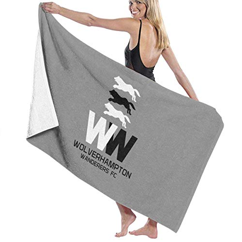 LALOPEZ Bath Towels Wolverhampton Wanderers FC Badge 1 Gold