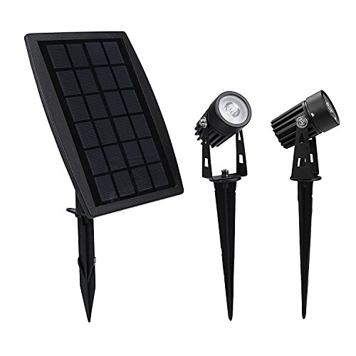 Findyouled Solar Spotlight, Waterproof...