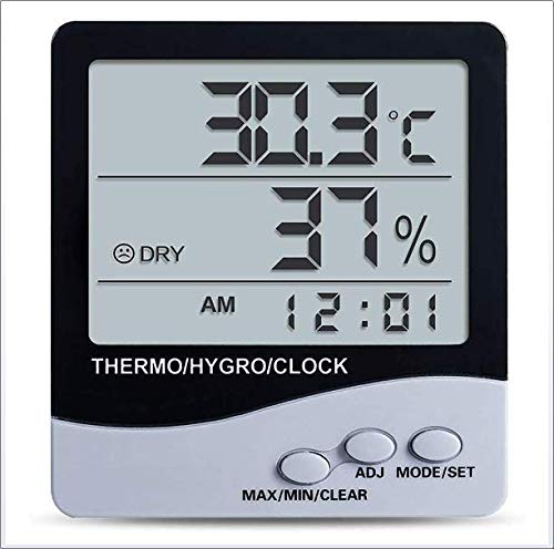 For Sale! DJG High Precision - Temperature and Humidity Meter Indoor Household Thermometer Precision...