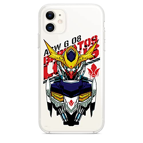 ZMMZ Anime Mobile Suit-Gundam Funda para iPhone 7 8 7Plus 8Plus X XR XS Max 11 11Pro 12 Pro Max 12Mini Funda de Teléfono, Ultra Delgada Transparente Suave TPU Protectora Completa Cov F-12Pro