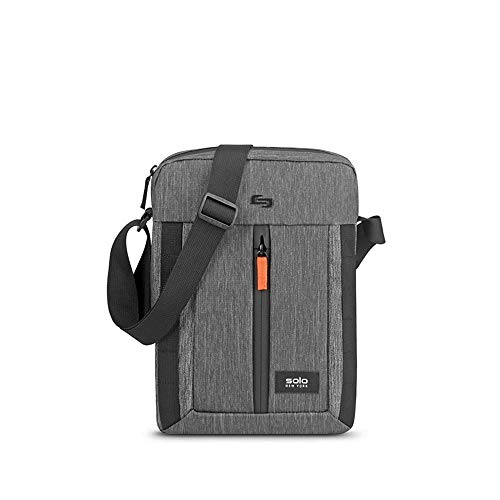 Solo New York Alpine Water Repellent Tablet Sling, Grey, One Size
