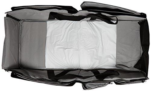 [イエント]クーファンバッグカムアップウィズベビーベッドベビークーファンプレゼント出産祝いブラック/グレー