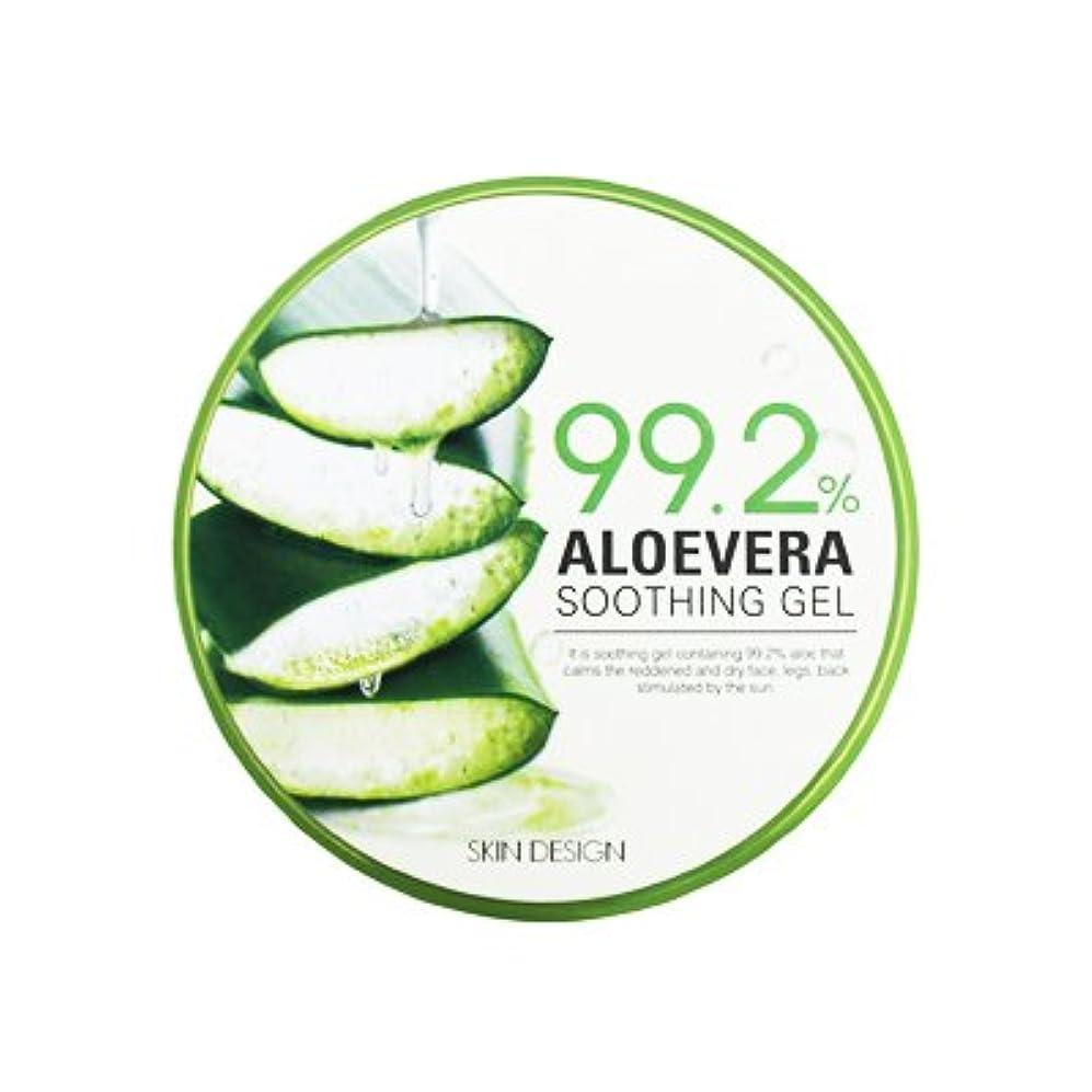 惑星道徳治世【SKIN DESIGN】アロエベラ スージング ジェル99.2% 「300ml」 / ALOEVERA SOOTHING GEL99.2%