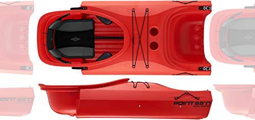 Point65 Martini Extra Element GTX Modul Kajak aus Einer Wird zweier Tandem, Farbe:Blau, Ausstattung:Mit Ruder und Airsitz