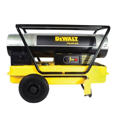 DeWalt DXH190HD Forced Air Kerosene Heater