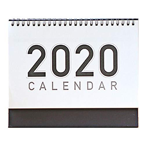 Calendario de Pared 2020 Calendario 2020 de escritorio sin imprimir Calendario de escritorio Calendario de notas DiseñO De Calidad Profesional La Mejor OpcióN Para Regalos (3 piezas)