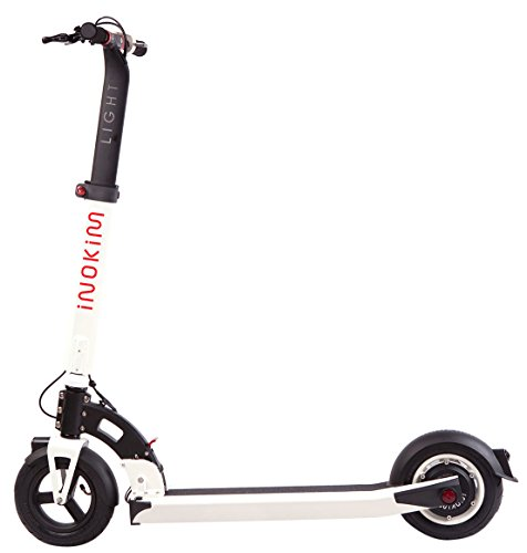 inokim Light Super trottinettes eléctrico para Adulto, Color Blanco