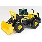 Tonka Steel Classic Cargador Frontal Dumper Truck Juguete para Niños, Juguetes de Construcción para Niños y Niñas, Juguetes de Vehículo para Juegos Creativos, Camiones de Juguete para Niños de 3 +