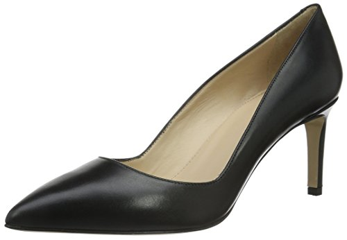 HUGO Damen Hellia 10191370 01 Pumps, Schwarz (Black 001), 36 EU