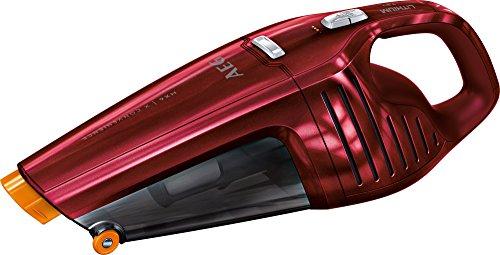 AEG HX6-14WR Akkusauger (beutellos, inkl. Zubehör, bis zu 14 min Laufzeit, ausziehbare Fugendüse, Doppelfilterung, 2 Leistungsstufen, oberflächenschonende Fronträder, 500ml Staubbehälter) grau