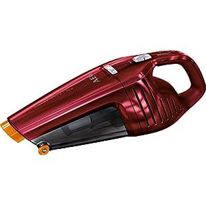 Aspirador de mano (sin bolsa, batería de litio, color gris) de AEG ECO HX6-14TM-W rojo