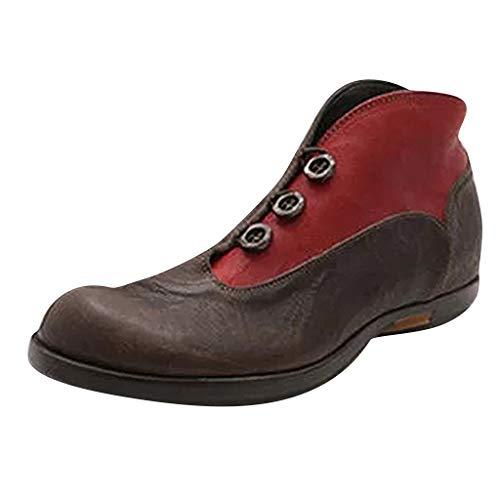 Stiefeletten Damen Sommer Sandalen Low Top Ankle Boots Kurzschaft Stiefel Schuhe Bequeme Retro...