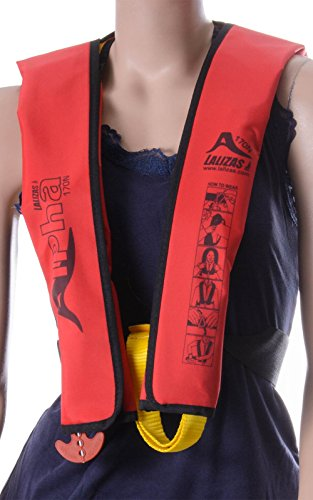wellenshop Lalizas Kinder Rettungsweste Alpha 170N 25-40 kg manuelle & automatische Auslösung