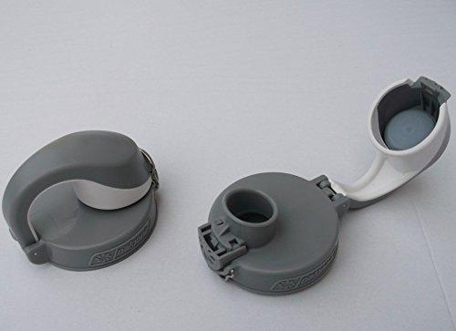 Nalgene Deckel OTF – grau, passt Nicht auf die 1,5 Liter Weithalsflasche