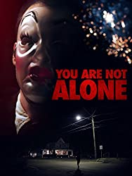 You Are Not Alone Scary Movie with Fireworks on Amazon