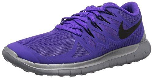 Nike Free 5.0 Flash 685169-500 Damen Laufschuhe Training Violett (Hypr Grp/Blk-Rflct Slvr-Wlf Gr 500) 36.5