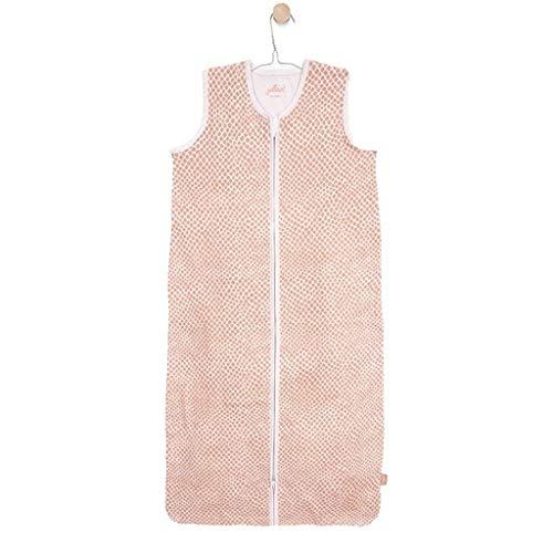 Jollein 048-529-65344 Sommerschlafsack 110cm Jersey Snake blassrosa, rosa, 370 g, schlange rosa
