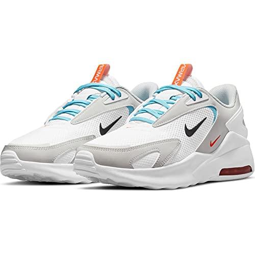 Nike Air MAX Bolt, Zapatillas para Correr Hombre, White Black Photon Dust Turf Orange, 44.5 EU