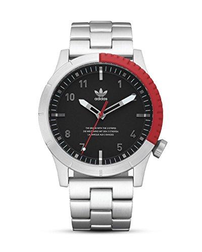 Adidas Herren Analog Quarz Smart Watch Armbanduhr mit Edelstahl Armband Z03-2958-00