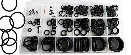 Lepik 225 Stück O-Ringe Sortiment Oringe Dichtungen aus NBR-Gummi