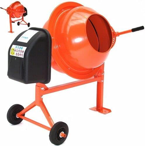 Betonmischer 70L Betonmischmaschine 55503 Mörtel Mischmaschine Zementmischer