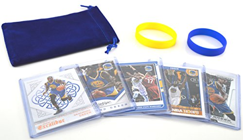 Draymond Green (5) Assorted Basketball Cards Bundle - Golden State Warriors Trading Cards - # 23