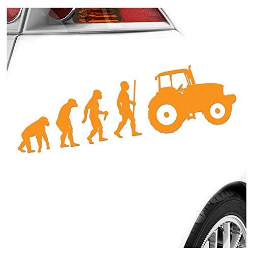 Kiwistar Autocollant pour Tracteur Evolution 25 Couleurs Fluo Mat