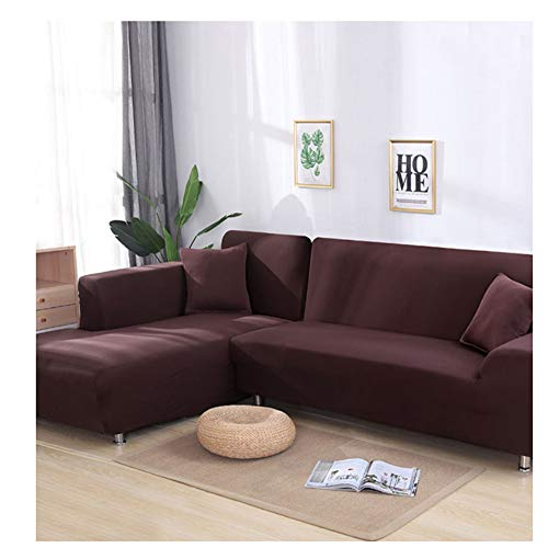 empty Elastische Sofabezug, Sofabezugabdeckung, rutschfeste Wohnzimmerdekoration (1/2/3/4 Sitz) M9 145X185Cm