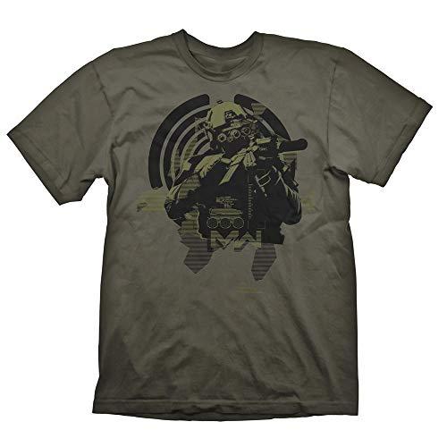 Shirtzshop - Camiseta de manga corta, diseño de Call of Duty verde S