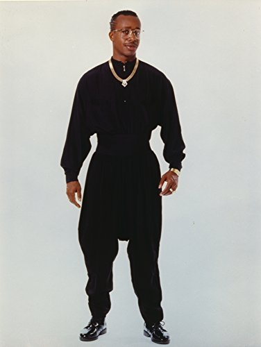 Celebrity Photos MC Hammer Posed in Black Outfit with Necklace Photo Print (20,32 x 25,40 cm)