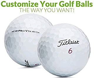 Personalized 1 Dozen Custom Logo Pro V1x Golf Balls + Free Tees