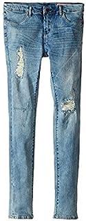 ブランクニューヨークシティー Blank NYC Kids キッズ 女の子 ジーンズ ジーパン デニム Blue Denim Distressed Skinny Jeans [並行輸入品]