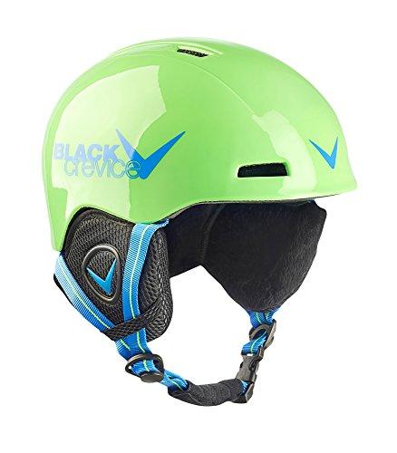Black Crevice Casque de Ski pour Enfant 2 Vert/Bleu