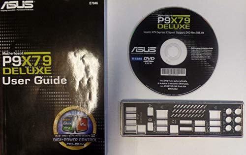 ASUS P9X79 Deluxe Handbuch - Blende - Treiber CD
