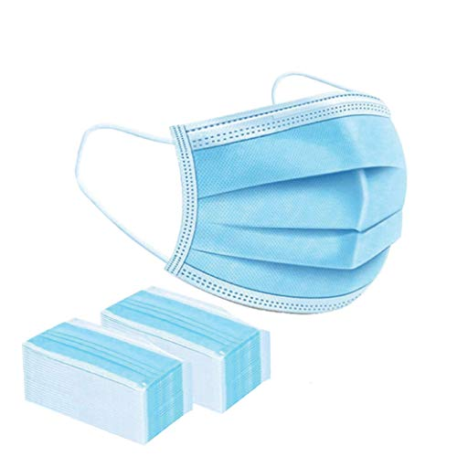 Guardian Shield 100 pcs 3-Layer Breathable Disposable Earloop Mask (100)(Send from Australia)