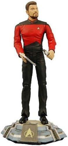 Figurine Star Trek nouveau Generation - Action Figure Dc Direct Comhommeder William Riker